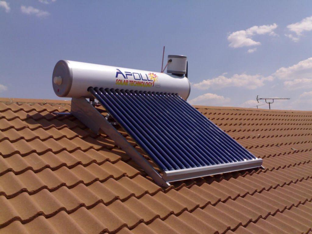 solar geyser installed by plumber in polokwane