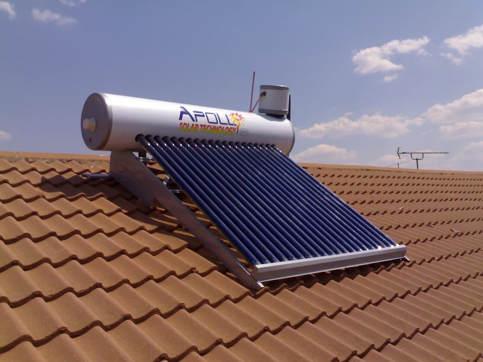 solar geyser installed by plumber in polokwane
